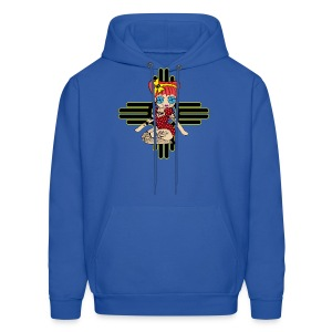 New Mexico Men's Hooded Sweatshirt - Men's Hoodie