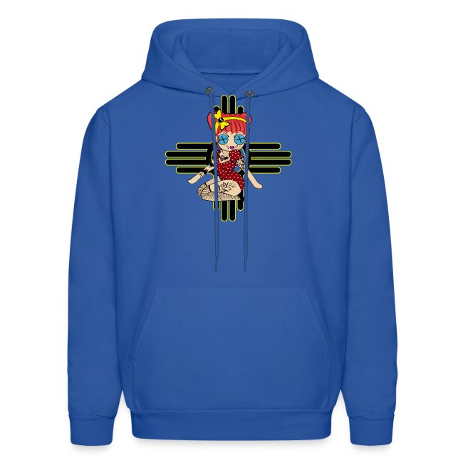 New Mexico Men's Hooded Sweatshirt