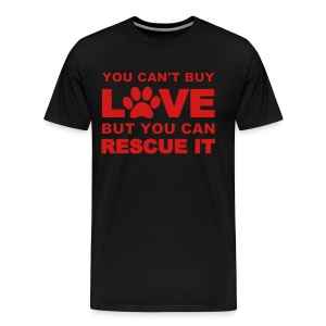 You Can't Buy Love Men's Shirt - Men's Premium T-Shirt