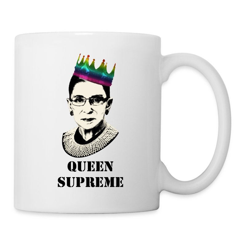 Notorious RBG Pride shirt - Coffee/Tea Mug