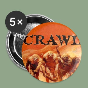 Crawl - Neanderthal Button - Small Buttons