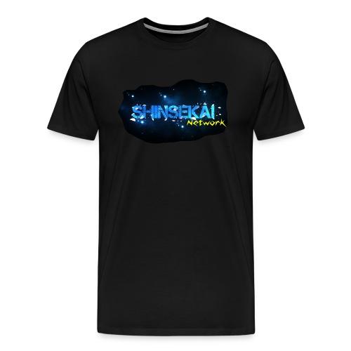 ShinSekai Network Official T-Shirt (Men) - Men's Premium T-Shirt
