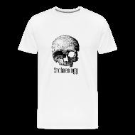 T-Shirts ~ Men's Premium T-Shirt ~ Skull Power