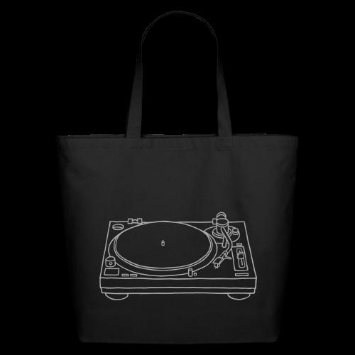 record player - Eco-Friendly Cotton Tote