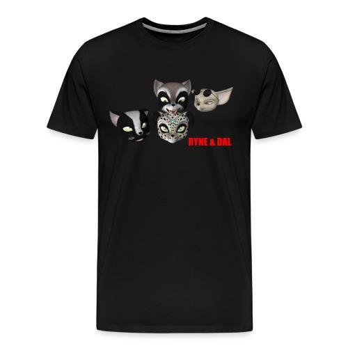 Men's Heads T-Shirt - Men's Premium T-Shirt