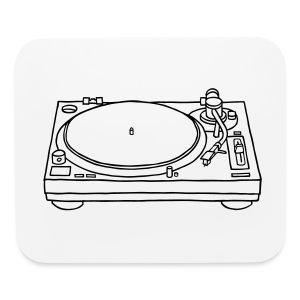 record player - Mouse pad Horizontal
