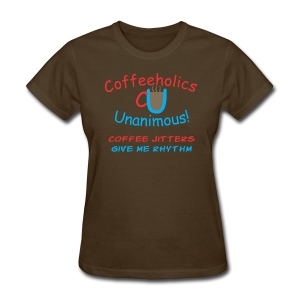 CU Coffee Jitters f - Women's T-Shirt
