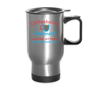 CU Coffee Jitters travel mug - Travel Mug