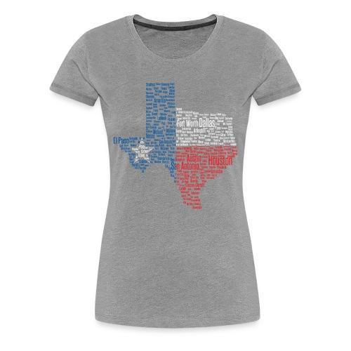 Texas Women - Women's Premium T-Shirt