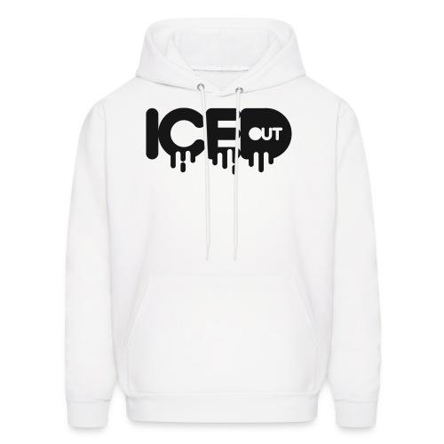IcedOut white hoodie - Men's Hoodie