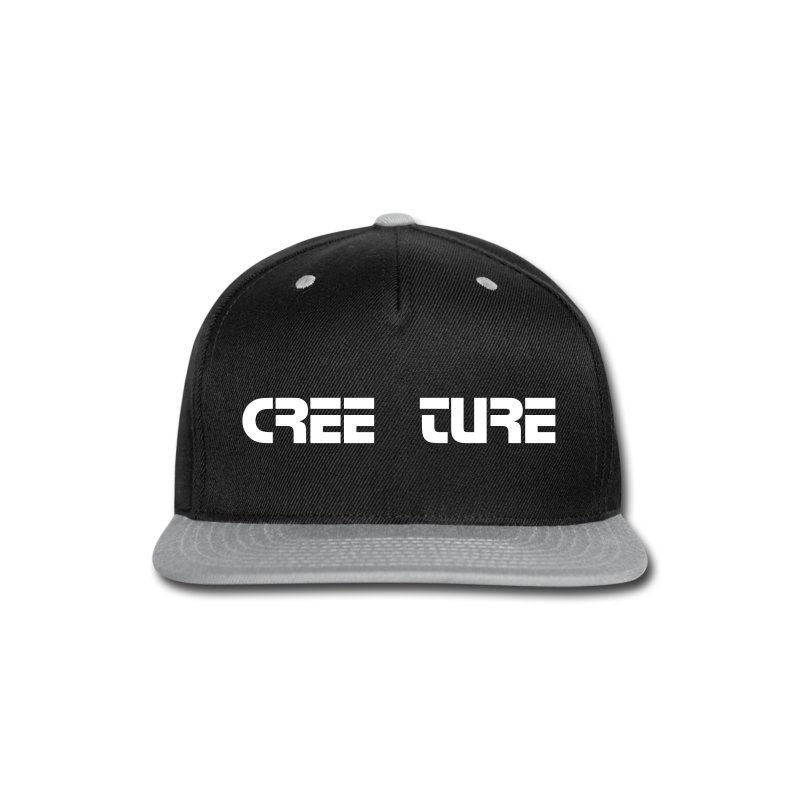 Creeture Snap back Cap - Snap-back Baseball Cap