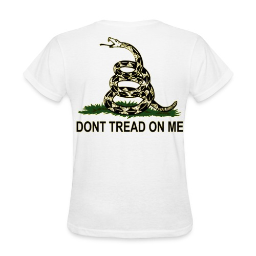 WOMEN'S Don't Tread On Me - Women's T-Shirt