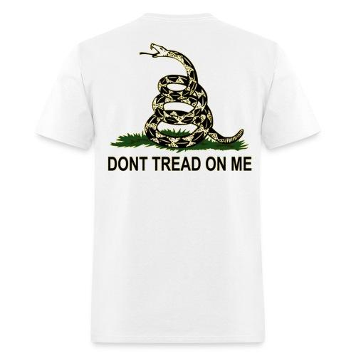 MEN'S T-Shirt Don't Tread On Me - Men's T-Shirt