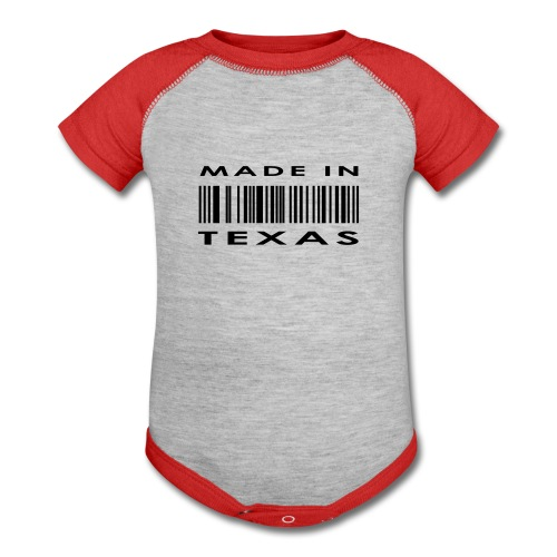 Made In Texas Onsie - Baby Contrast One Piece