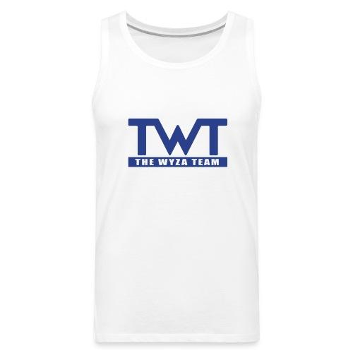 TWT Blue Logo Tank - Men's Premium Tank