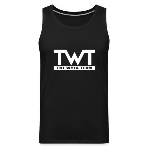 TWT White Logo Tank - Men's Premium Tank