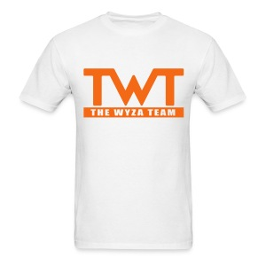 Orange Logo - Men's T-Shirt