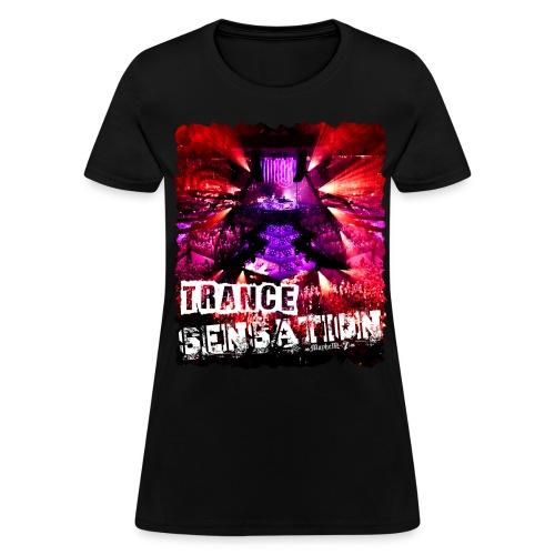 Trance Sensation - Women's T-Shirt