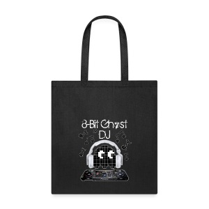 8-Bit Ghost DJ - Tote Bag