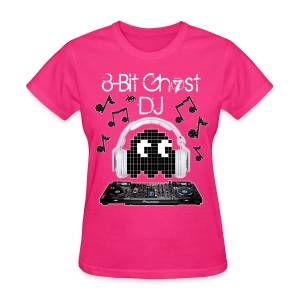 8-Bit Ghost DJ - Women's T-Shirt
