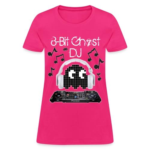 8-Bit Ghost DJ - Women's T-Shirt