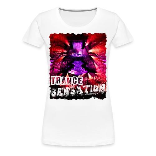 Trance Sensation - Women's Premium T-Shirt