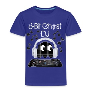 8-Bit Ghost DJ - Toddler Premium T-Shirt