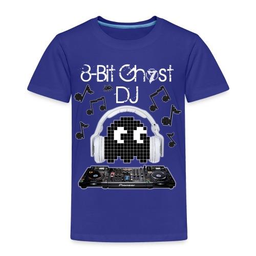 8-Bit Ghost DJ - Toddler Premium T-Shirt