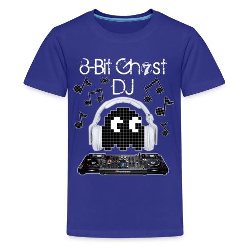 8-Bit Ghost DJ - Kids' Premium T-Shirt