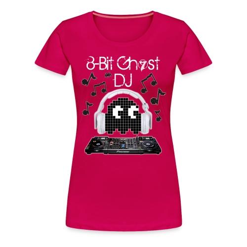 8-Bit Ghost DJ - Women's Premium T-Shirt