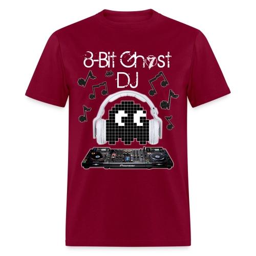 8-Bit Ghost DJ - Men's T-Shirt