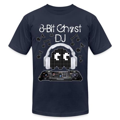 8-Bit Ghost DJ - Men's Fine Jersey T-Shirt
