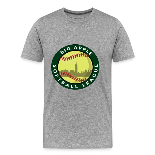 Big Apple Softball Logo T-shirt - Men's Premium T-Shirt