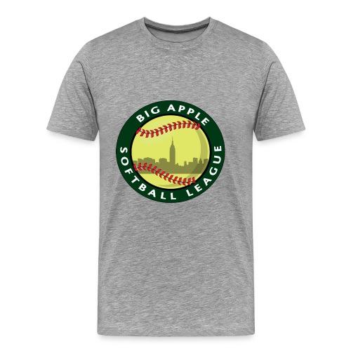 Big Apple Softball Logo T-shirt - Men's Premium T-Shirt