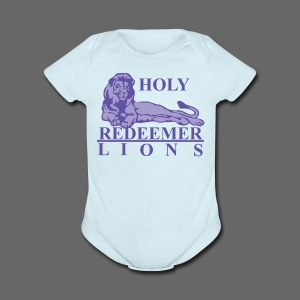 Holy Redeemer - Short Sleeve Baby Bodysuit