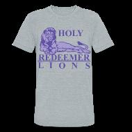 T-Shirts ~ Unisex Tri-Blend T-Shirt by American Apparel ~ Holy Redeemer