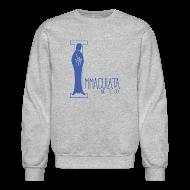 Long Sleeve Shirts ~ Men's Crewneck Sweatshirt ~ Immaculata