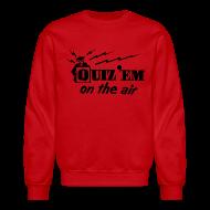 Long Sleeve Shirts ~ Men's Crewneck Sweatshirt ~ Quiz