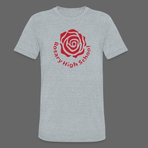 Rosary High School - Unisex Tri-Blend T-Shirt by American Apparel
