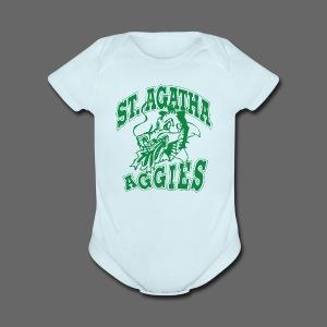 St Agatha - Short Sleeve Baby Bodysuit