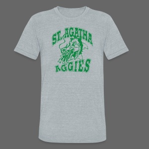St Agatha - Unisex Tri-Blend T-Shirt