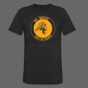 St David - Unisex Tri-Blend T-Shirt by American Apparel