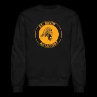 Long Sleeve Shirts ~ Men's Crewneck Sweatshirt ~ St David