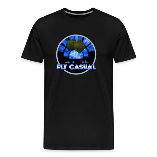 Fly Casual BLACK - Men's Premium T-Shirt