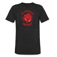 T-Shirts ~ Unisex Tri-Blend T-Shirt by American Apparel ~ St Gregory