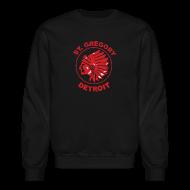 Long Sleeve Shirts ~ Men's Crewneck Sweatshirt ~ St Gregory