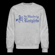 Long Sleeve Shirts ~ Men's Crewneck Sweatshirt ~ St Hedwig