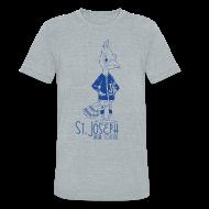 T-Shirts ~ Unisex Tri-Blend T-Shirt by American Apparel ~ St Joseph