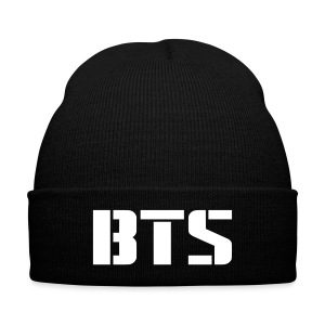 BTS Logo - Knit Cap with Cuff Print