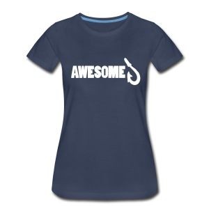 Totally Awesome Fishing Show Women's Premium T-Shirt - Women's Premium T-Shirt